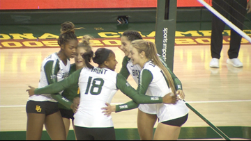 Baylor volleyball a program-best No. 2 in latest AVCA poll