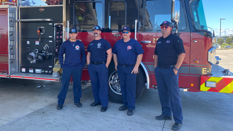 Waco, Hewitt and Killeen firefighters to assist with the Hurricane Ida response