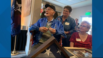 Temple WWII veteran celebrates 100th birthday