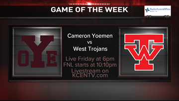 Game of the Week week 12 announcement