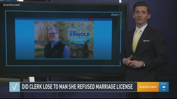 Verify: Did Kentucky clerk lose to man she refused marriage license?