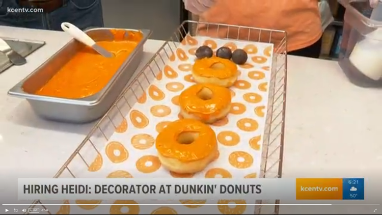 Does Heidi have what it takes to be a decorator at Dunkin' Donuts? | Hiring Heidi