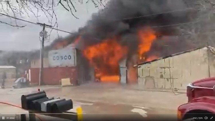 VIDEO: 3-building fire under control north of Waco