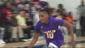 High School Hoops: Marlin vs. Grapeland girls