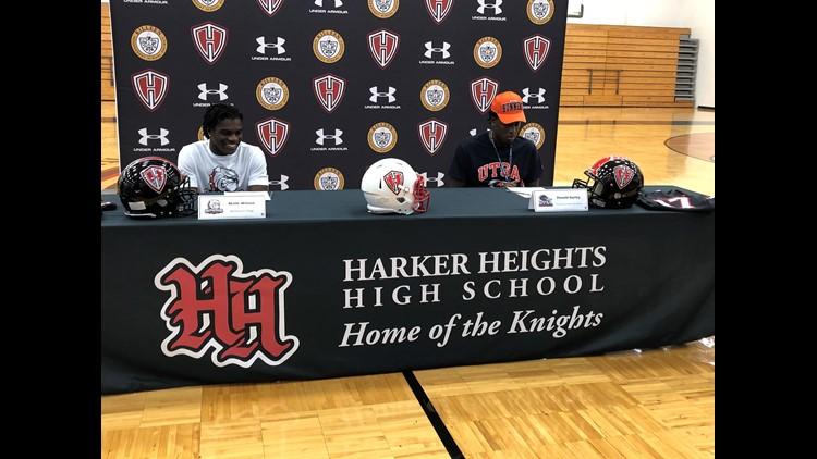 020520 Harker Heights High School signings