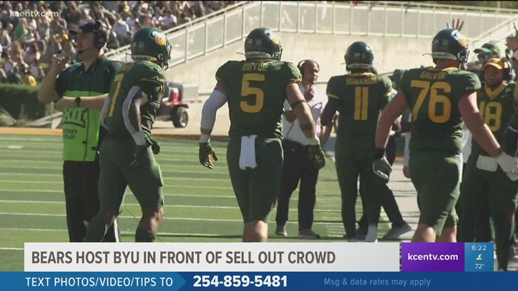 Bears host BYU in front of sold out crowd