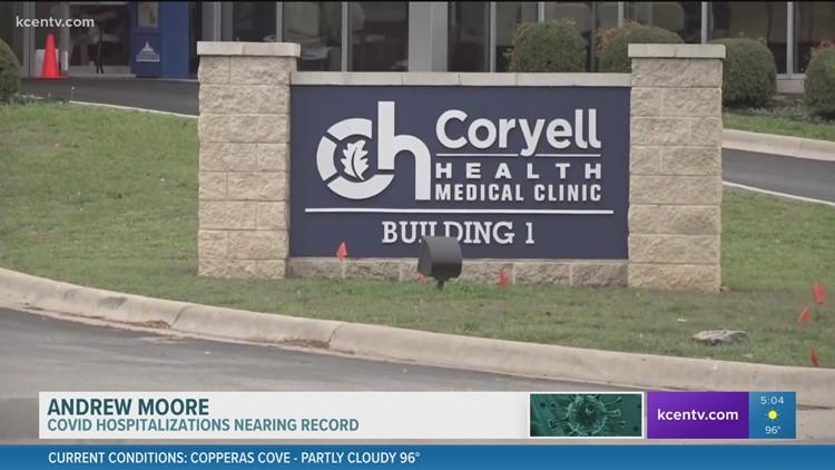 COVID hospitalizations nearing record
