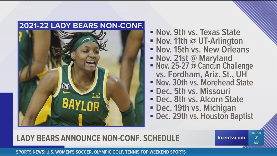 Baylor sets Collen's first non-conference