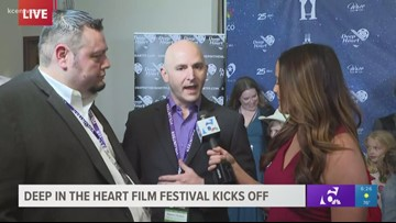 """Live interview from the """"Deep in the Heart"""" Film Festival red carpet"""