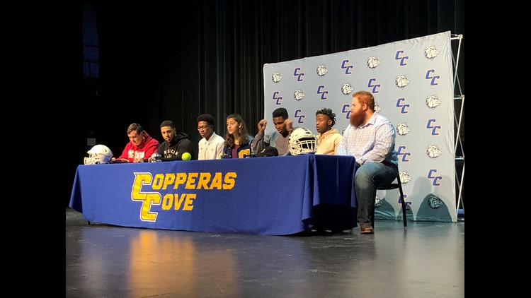 020520 Copperas Cove signings