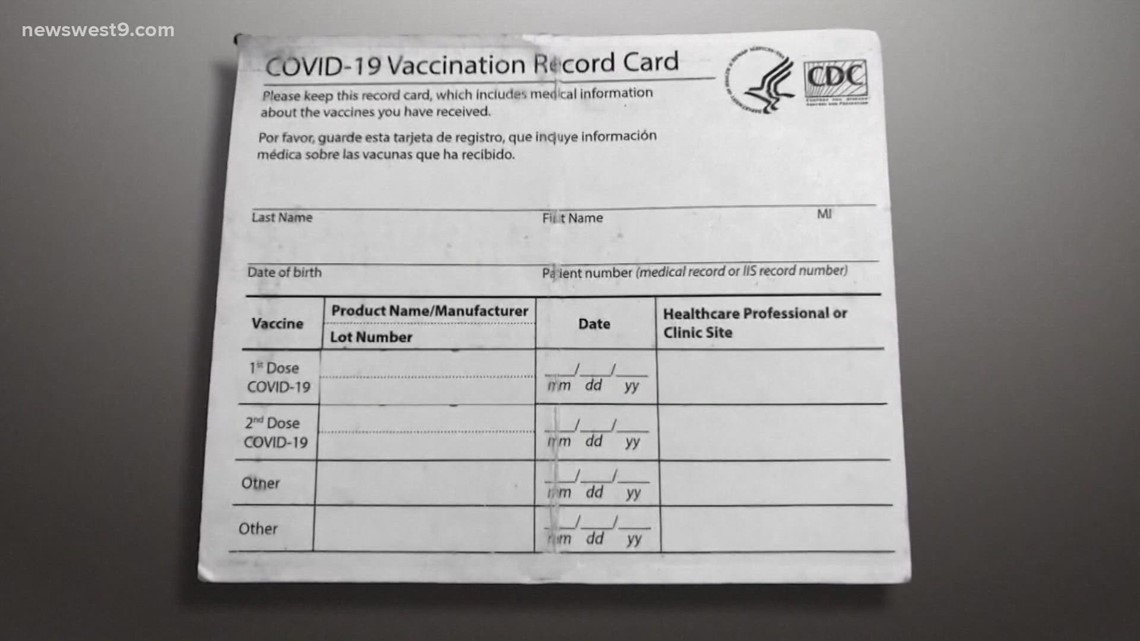 Verify   Are vaccine cards protected by HIPPA?