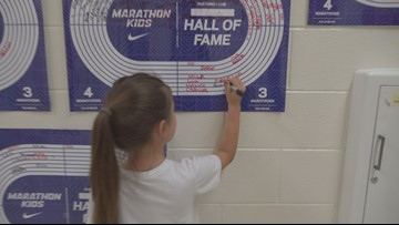 Who runs the world? Marathon Kids running club helps students focus on school, gain confidence