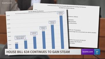 Bill redefining how cities get reimbursed for veteran tax relief gains steam