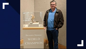 Central Texas man becomes first Texan to win World Carving Competition