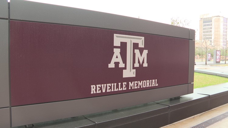 The Reveille Gravesite at Kyle Field