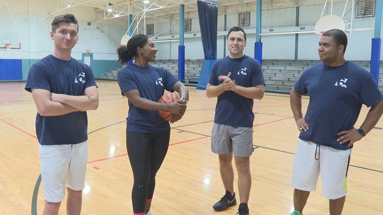 Texas Today Olympics: Morning anchors take on the meteorologists in basketball