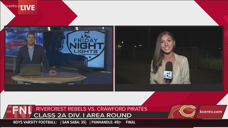 6 Sports Weekend Anchor Niki Lattarulo breaks down Crawford's win | Friday Night Lights