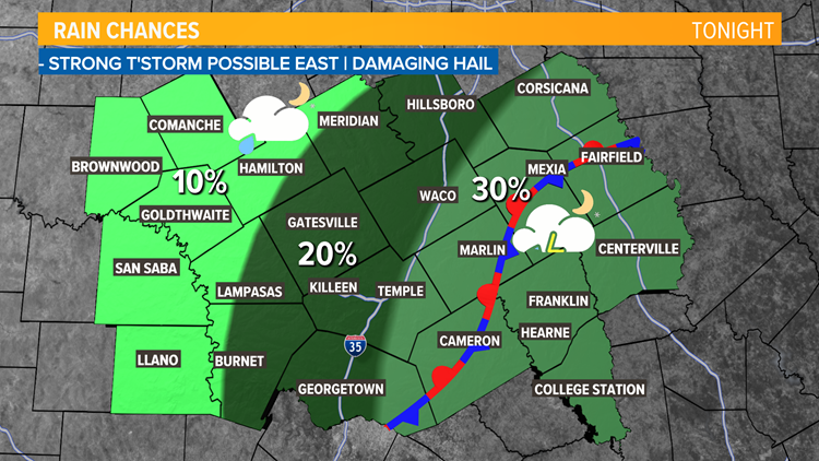 Low Rain Chances Continue | Central Texas Forecast