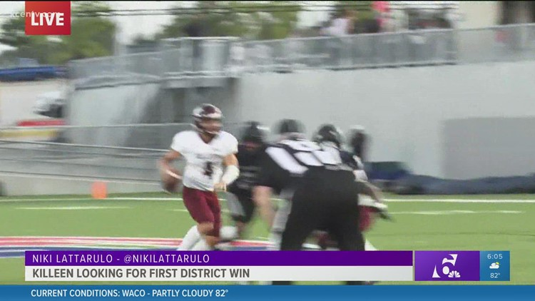 Live at Leo: Killeen Kangaroos looking for first district win
