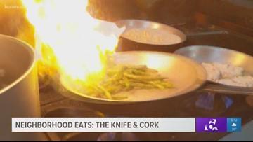 Neighborhood Eats: The Knife & Cork
