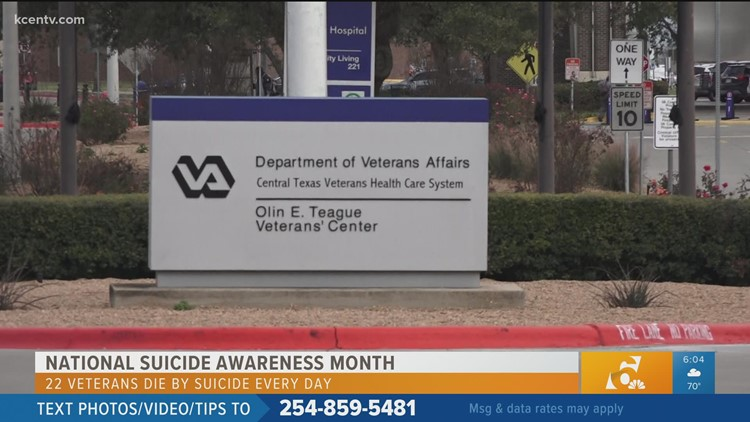 Mental Health Support for Veterans  | National Suicide Awareness Month