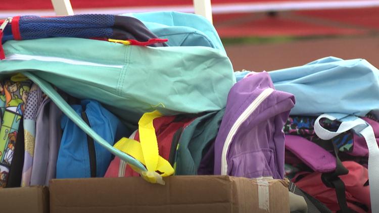 'Back 2 School Rally' in Killeen gives kids free backpacks, school supplies