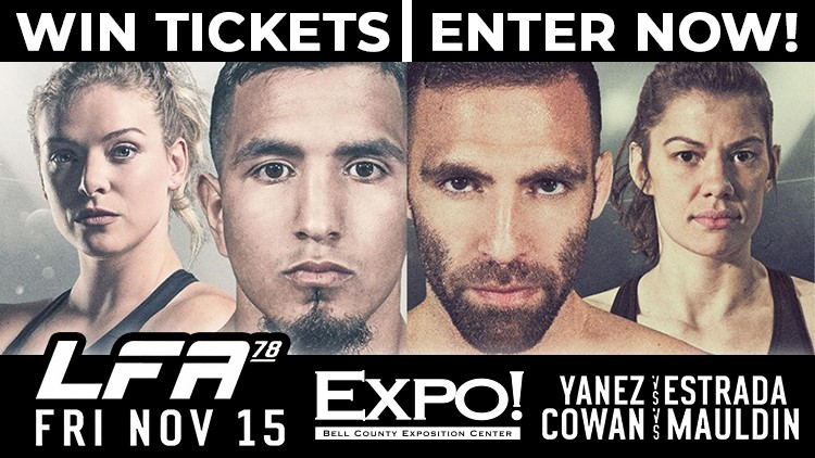 Enter to Win a 4-Pack of Tickets to the LFA Livestream