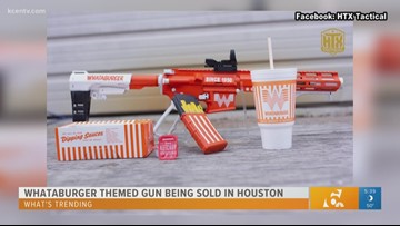 Whataburger themed gun being sold in Houston: What's Trending