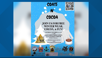 New nonprofit organization celebrating the season of giving with free coats to those in need