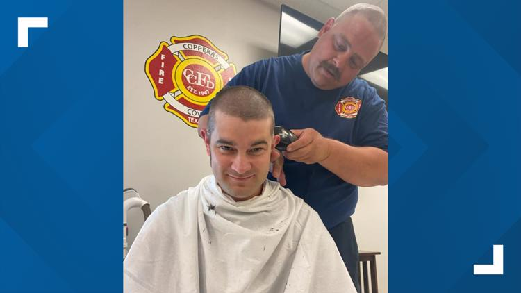 #LiveLikeMaddie: Copperas Cove Fire Department sport buzzcuts in support of fellow firefighter's daughter and her fight against Leukemia