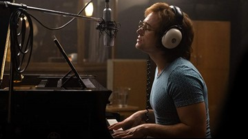 'Rocketman' launches into theaters