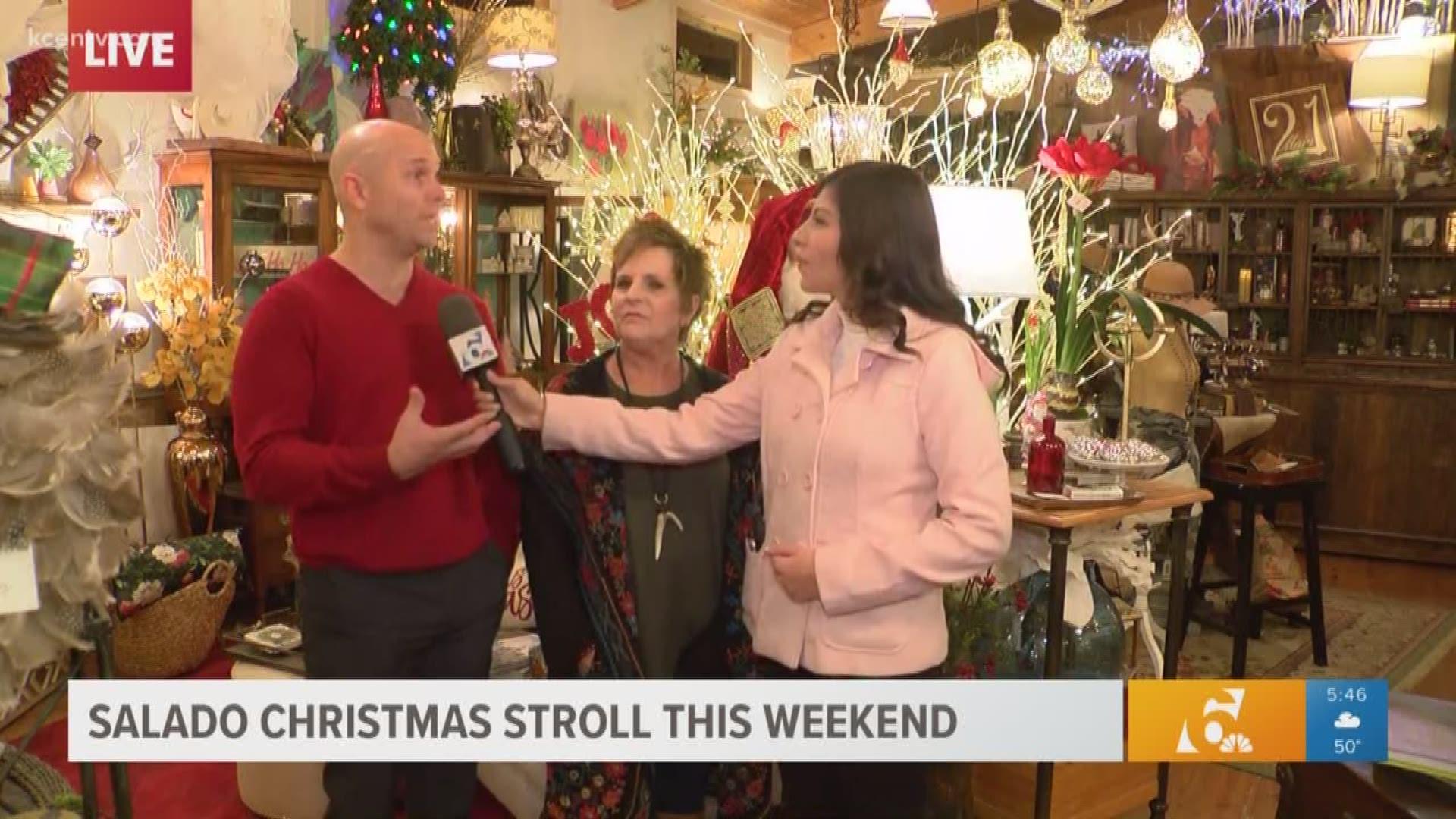 Salado Christmas Stroll 2021 Christmas Carol Tis The Season Christmas Events Happening In Central Texas Kcentv Com