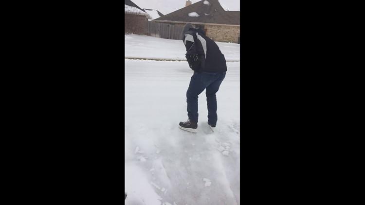 Texas on ice