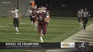 FNL PLAYOFFS WEEK ONE: Riesel vs. Crawford