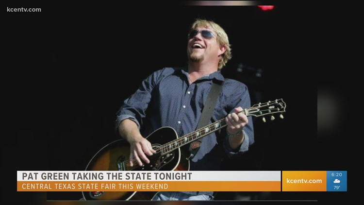CenTex State Fair: One-on-One with Pat Green
