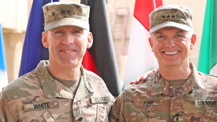 U.S. Army selects Maj. Gen. Robert 'Pat' White as new Fort Hood commander