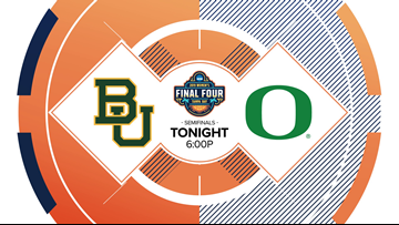 Baylor looks to shut down Oregon's long range attack in the National Semifinals