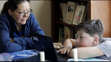 Parents adapt to remote learning while social distancing