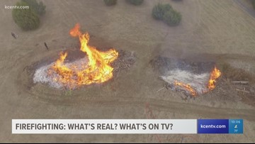 Firefighting: What's real, and what's on TV?