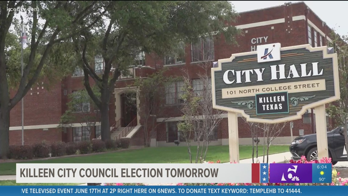 Killeen City Council District 4 runoff election happening Saturday, June 12