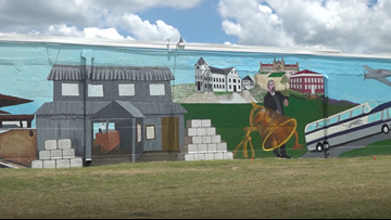 New Waco mural depicts city's history
