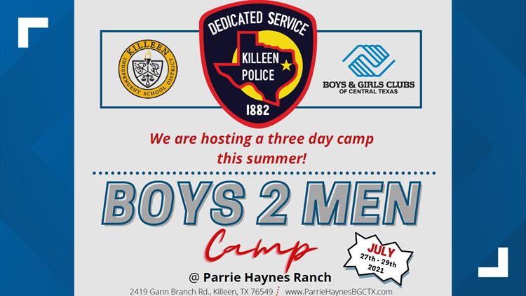 Heart of Central Texas | Killeen police to host 'Boys 2 Men' summer camp