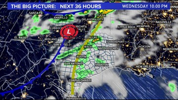 Andy's 10 p.m. forecast: Storms, large hail and damaging winds likely Wednesday evening