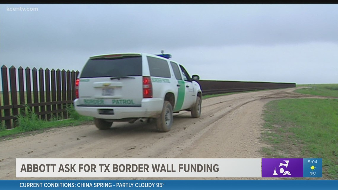 Gov. Abbott to crowdfund Texas border wall