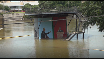 Flooding on Lake Waco, Brazos River, halts summer activities