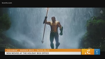 'Aquaman' and more new movies hit the holiday box office
