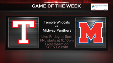 Temple faces Midway in the week 10 Game of the Week