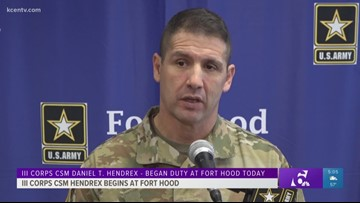 Military Matters: III Corps CSM Hendrex begins at Fort Hood