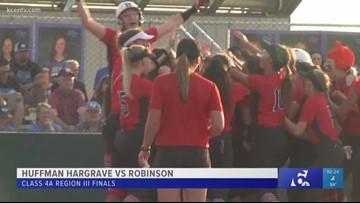 Huffman, Robinson clash in Region III Softball Finals