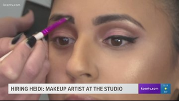 Hiring Heidi: Makeup artist at the studio